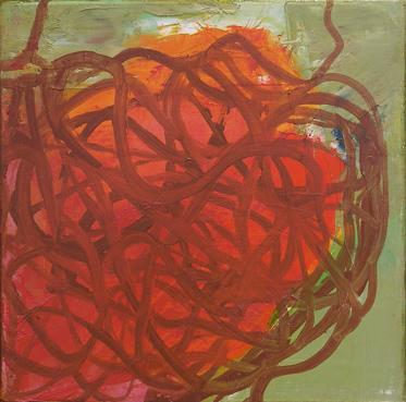 Flow - Oil on canvas - 30cm x30cm